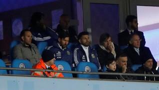 Aguero Tak Mungkin Satu Klub dengan Messi