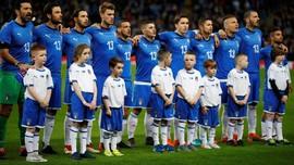 FOTO: Timnas Argentina Kalahkan Italia Tanpa Lionel Messi