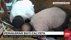 Pemakaman Bayi Calysta Diwarnai Isak Tangis Keluarga
