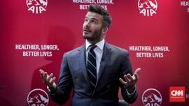 David Beckham Akui Kerja Keras Capai 20 Tahun Perkawinan