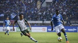Persib Berpotensi Turunkan Dua Striker Lawan Sriwijaya