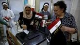 Partai Moussa, Partai Ghad sebenarnya mendukung El-Sisi untuk masa jabatan kedua, sebelum Moussa muncul di detik-detik terakhir sebagai penantang. (REUTERS/Amr Abdallah Dals)