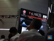 Turun 0,35%, IHSG Masih Mampu Bertahan di Atas 6.000
