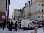 Kebakaran Mematikan Mal di Rusia, 64 Orang Tewas