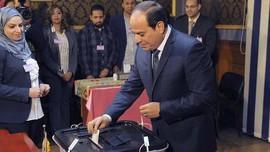 Menang Telak Pemilu, Presiden Sisi kembali Pimpin Mesir