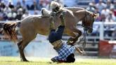 Namun sebagian dari gauchos juga dikenal merupakan keturunan dari Spanyol, Eropa, ataupun Afrika.(REUTERS/Andres Stapff)