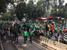 Driver Tetap Demo di Asian Games, Bantah Go-Jek Cs Soal Tarif