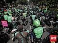 Demo Pengemudi Ojol, Polisi Tutup Jalan Depan Gedung DPR