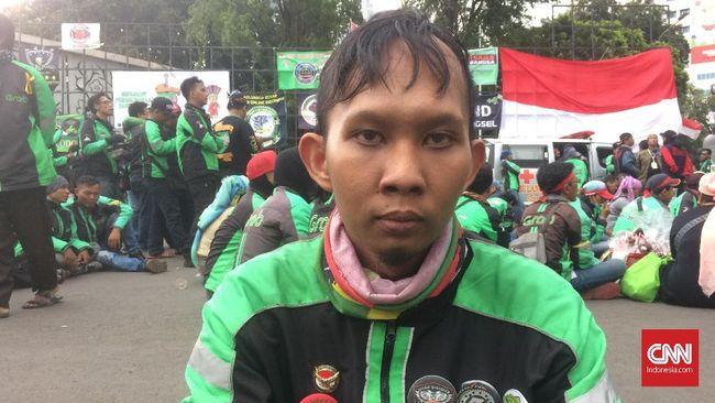 Cerita Surya, Konvoi Cirebon-Jakarta Ikut Demo Ojek Online