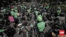 Ojek <i>Online</i> Demo, Penumpang Bingung dan Tarif Meroket