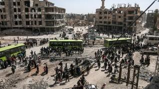 500 Orang Dilaporkan Luka Karna Serangan Gas Klorin di Ghouta