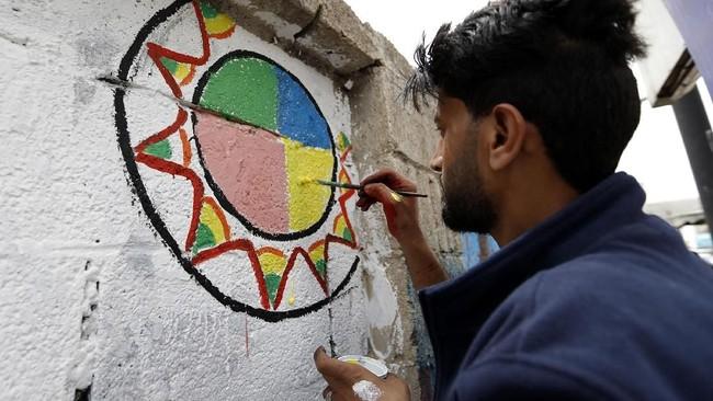 Pada akhirnya, korban perseteruan politik dan saudara adalah masyarakat Yaman yang tak berdosa. (AFP PHOTO / Mohammed HUWAIS)