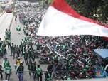 Demo Besar Go-Jek, Nadiem: No Comment, Saya Ditunggu Go-Car