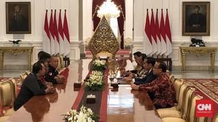 Jokowi Temui Perwakilan Demo Ojek Online di Istana