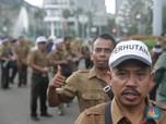 Tuntut Kenaikan Gaji, Karyawan Perhutani Demo