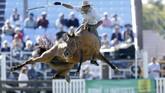 Sejumlah negara Amerika Selatan seperti Uruguay dan Argentina memiliki sejarah dan legenda rakyat akan penunggang kuda yang dikenal sebagai guacho. (REUTERS/Andres Stapff)