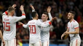 Morata dan Fabregas Dicoret dari Timnas Spanyol