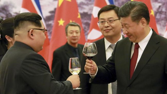 Ajak Seniman, Petinggi Partai Komunis China Temui Kim Jong Un