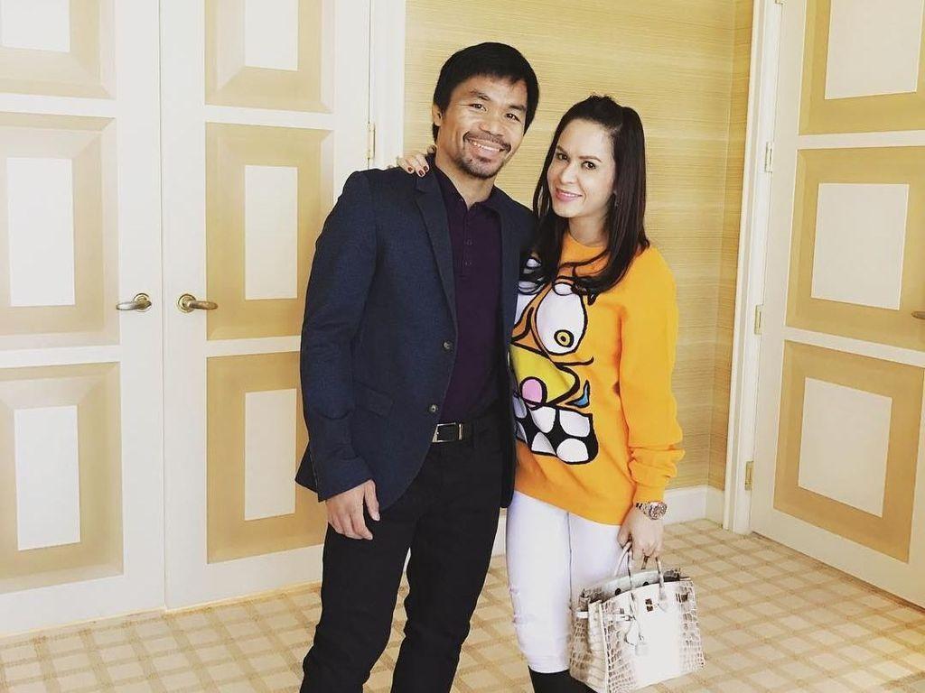 Gaya Mewah Istri Petinju Manny Pacquiao dengan Koleksi Tas Miliaran