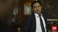 Yusril Pimpin Tim Hukum Jokowi Hadapi Gugatan Prabowo di MK