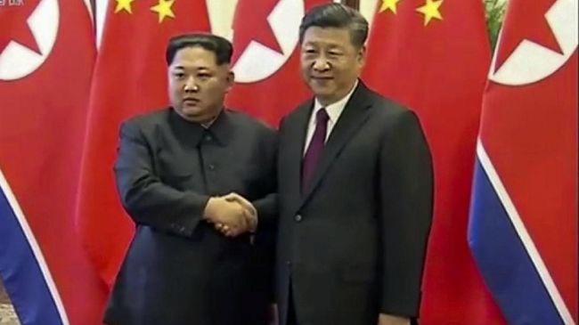 Jelang KTT dengan Trump, Kim Jong-un Temui Xi Jinping