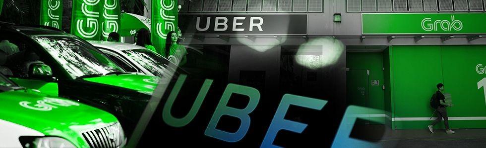 Uber Jatuh ke 'Pelukan' Grab