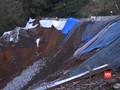VIDEO: Puncak Kembali Longsor, Polisi Tutup Jalur Gunung Mas