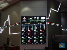 Investor Asing Masuk Rp 523 M, IHSG Menguat 0,56%