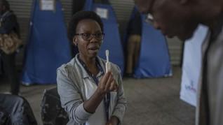 Afrika Selatan Beri Alat Periksa Mandiri untuk Atasi HIV