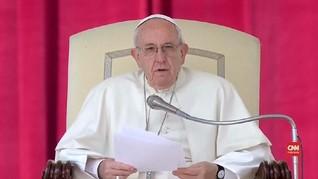 VIDEO: Paus Fransiskus Kritik Keras Mafia Italia