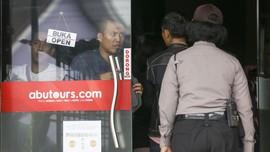 Polisi Sita Gudang-gudang Penyimpanan Koper Umrah Abu Tours