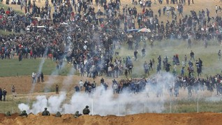 Israel Sebar Poster Larang Warga Palestina Dekati Perbatasan