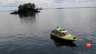 VIDEO: Kapal Terbakar di Balikpapan, Dua Orang Tewas
