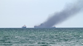 Kapal Meledak di Pulau Panggang, 9 Orang Luka-luka