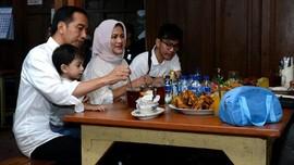 Nostalgia Kuliner ala Jokowi di Libur Panjang Akhir Pekan