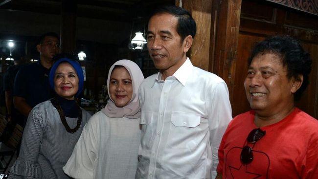 Besan Wafat, Jokowi dan Iriana Terbang ke Solo Sore Ini