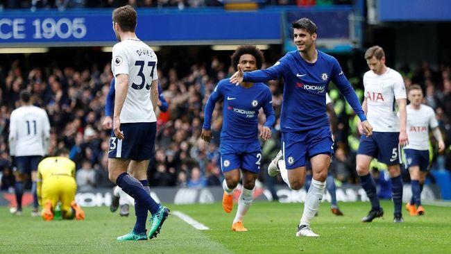 Taklukkan Tottenham, Chelsea ke Final Piala Liga Inggris