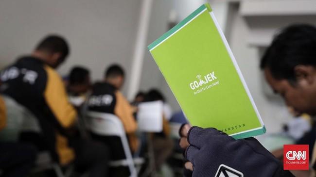 Sembilan titik perekrutan Gojek Indonesia untuk menampung sopir UberMotor berada di Cilandak, Meruya, Condet, Jatiwaringin, Gunung Sahari, Bogor, Depok, Tangerang, dan Bekasi. (CNNIndonesia/Safir Makki)