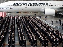 Gegara Pilot Mabuk, Bos Japan Airlines Potong Gaji 3 Bulan