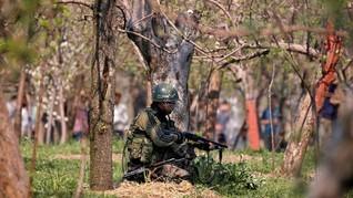 Sebanyak 18 Orang Terluka Akibat Granat di Kashmir