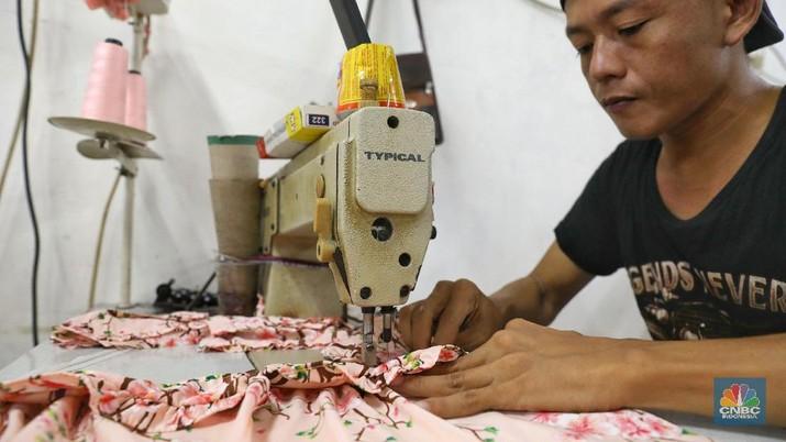 Industri Tekstil (CNBC Indonesia/Andrean Kristianto)