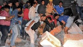 Hotel Ambruk di India, 10 Tewas Dua Luka-luka