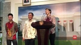 VIDEO: Marcus Gideon Antar Undangan Pernikahan ke Jokowi