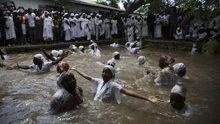 FOTO: Ritual Pengikut Voodoo Rayakan Paskah