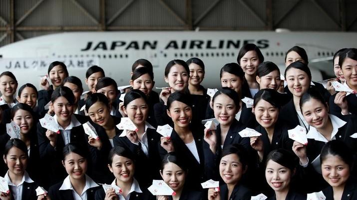 Maskapai Jepang membuat ikon khusus pada penumpang anak