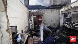 Kebakaran di Bidara Cina Padam, 40 Rumah Hangus