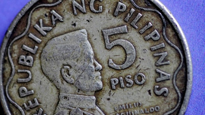 FILE PHOTO: A Philippines Peso coin is seen in this illustration photo May 31, 2017.     REUTERS/Thomas White/Illustration/File Photo                                       GLOBAL BUSINESS WEEK AHEAD