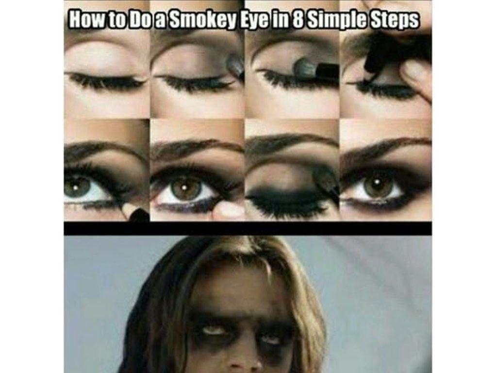 10 Ilustrasi Rumitnya Wanita dan Makeup yang Nggak akan Dipahami Pria