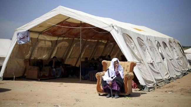 China Bantu Pangan Pengungsi Palestina di Gaza US$2,35 Juta