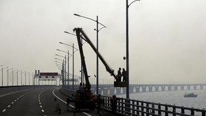 Jembatan Laut Terpanjang Siap Beroperasi Pekan Ini